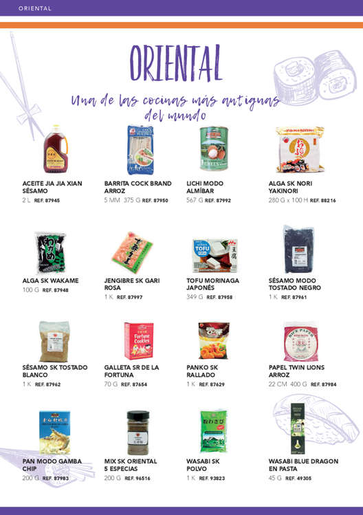 Ofertas de GM Cash & Carry, Cocinas del Mundo 2019