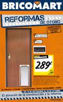 Ofertas de Bricomart, Reformas de otoño - Madrid