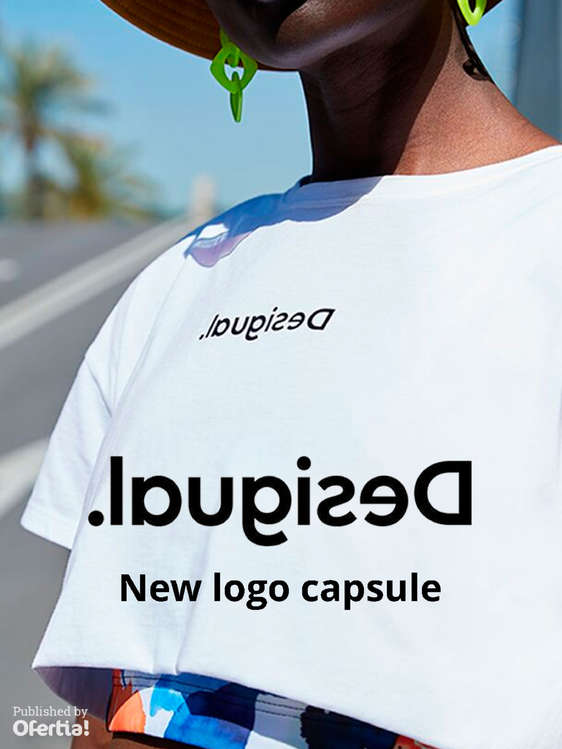 Ofertas de Desigual, New logo capsule