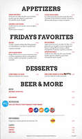 Ofertas de TGI Fridays, Fridays Food&Drink - sin gluten