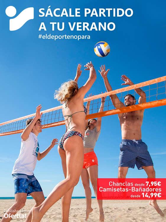 Ofertas de Intersport, Sácale partido a tu verano