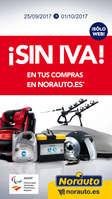 Ofertas de Norauto, ¡Sin IVA!
