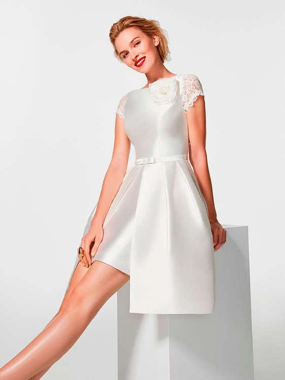 comprar vestidos novia cortos barato en madrid - ofertia