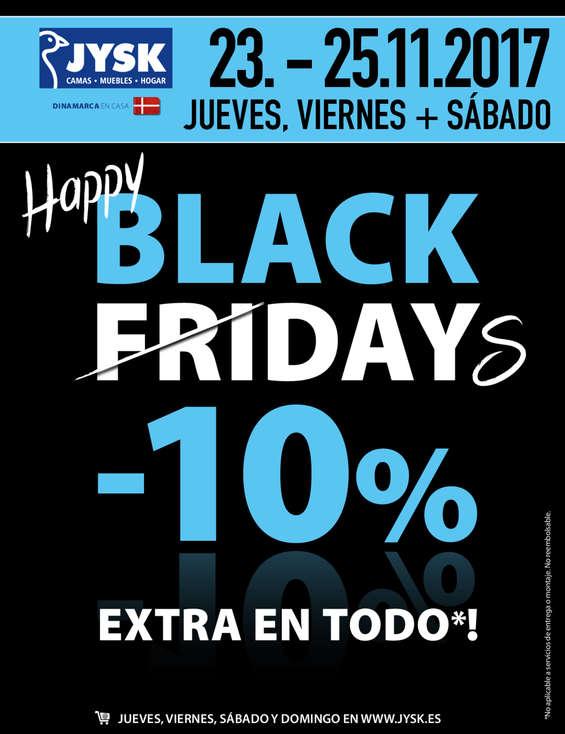 Ofertas de JYSK, Happy Black Days -10%