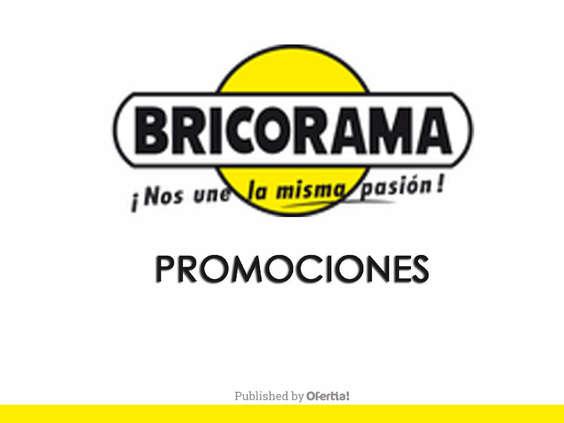 Ofertas de Bricorama, Promociones Bricorama