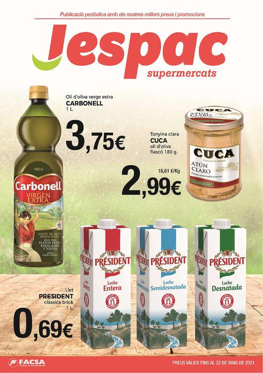 Ofertas de Supermercats Jespac, Ofertes