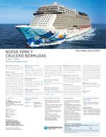 Ofertas de Linea Tours, Grandes viajes con cruceros Norwegian