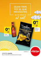 Ofertas de Supermercados Charter, Quan tens tot que nesessites que bo relaxar -te al sol!