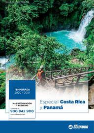 Especial Costa Rica y Panamá 20-21