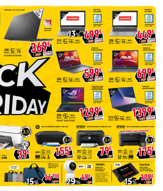 Ofertas de Dynos, Black Friday