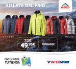 Ofertas de Intersport, Aíslate del frío