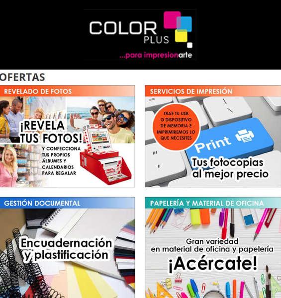 Ofertas de Color Plus, Ofertas