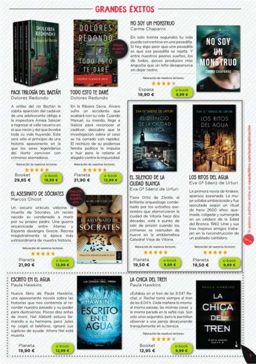 Comprar novela hist rica barato en valencia ofertia - Casa del libro valencia horario ...