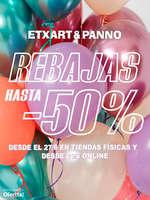 Ofertas de Etxart&Panno, Rebajas hasta -50%