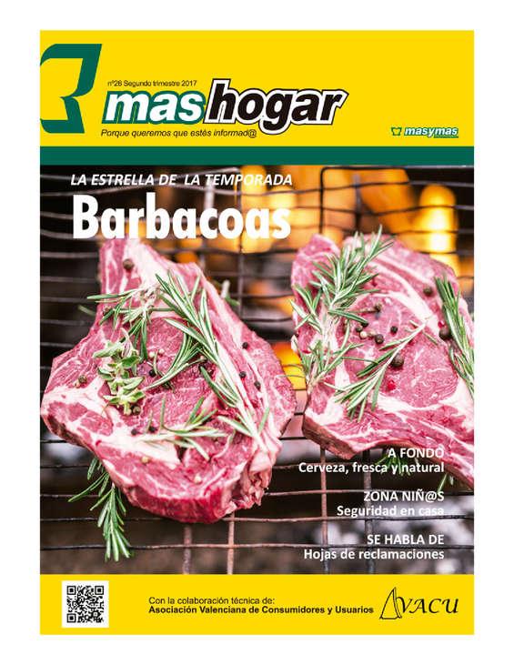Ofertas de Masymas, Barbacoas