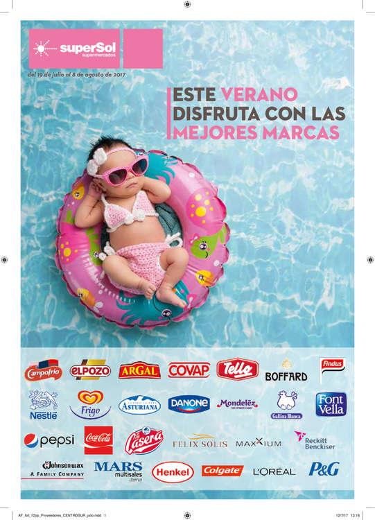 Ofertas de SuperSol, Este verano disfruta con las mejores marcas