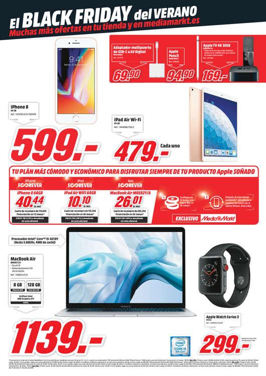 Ofertas de Media Markt, Red Friday. El Black Friday del verano
