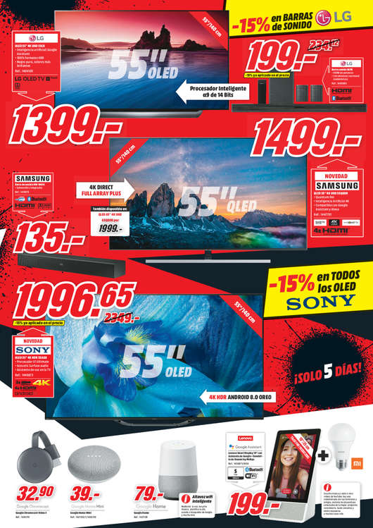 Ofertas de Media Markt, Red Friday. El Black Friday del verano