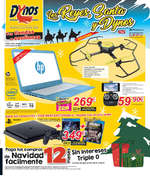 Ofertas de Dynos, Los Reyes, Santa y Dynos
