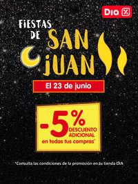 Fiestas de San Juan. -5% de descuento