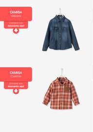 Nueva colección de camisas y camisetas