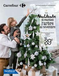Ets Navideador si muntes l'arbre al novembre