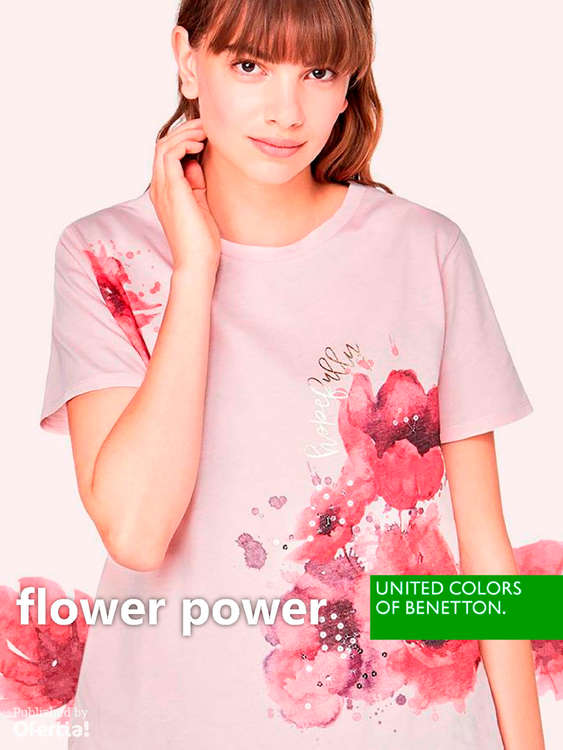 Ofertas de United Colors Of Benetton, Flower Power