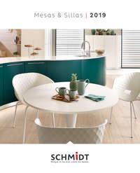 Catalogo SCHMIDT Mesas y sillas 2019