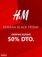 Ofertas de H&M, Black Friday -50% dto.