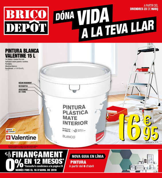 Bricodepot valencia ofertas cat logo y folletos ofertia for Bauhaus valencia horario