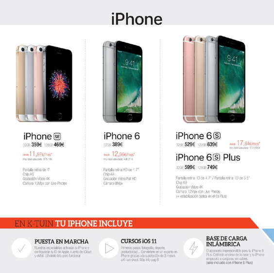 Ofertas de K-Tuin, iPhone 8
