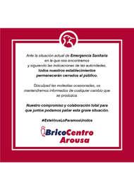Bricocentro Informa - Arousa #EsteVirusLoParamosUnidos