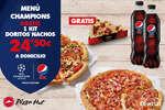 Ofertas de Pizza Hut, Menú Champions