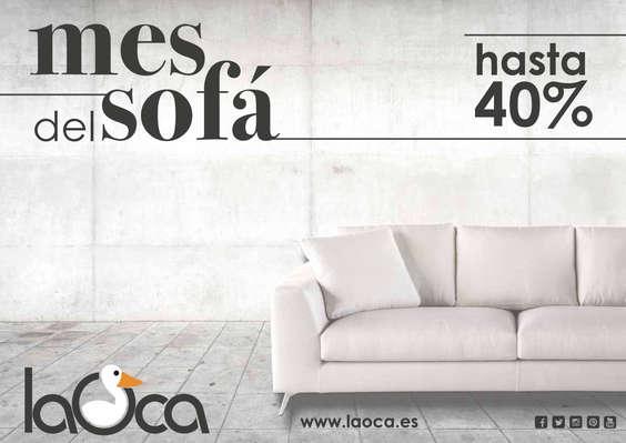 Ofertas de La Oca, Mes del sofá