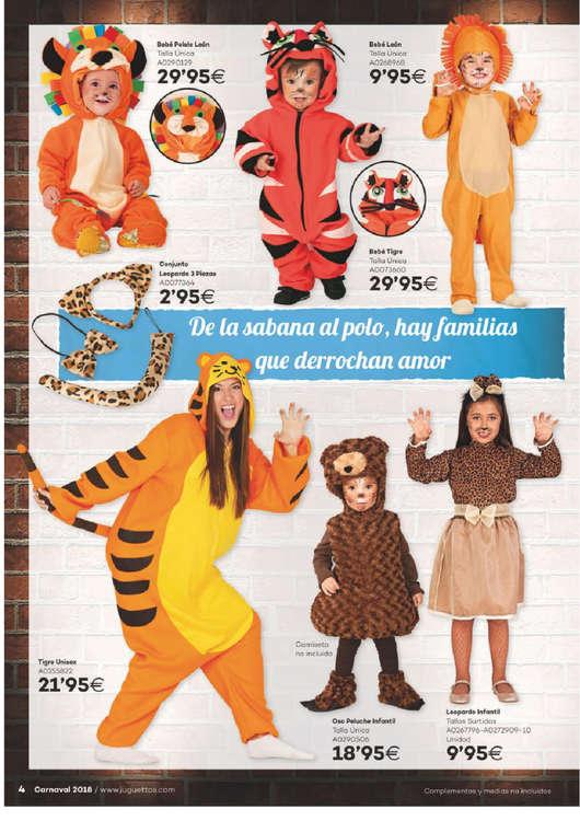 disfraces juguettos 2018