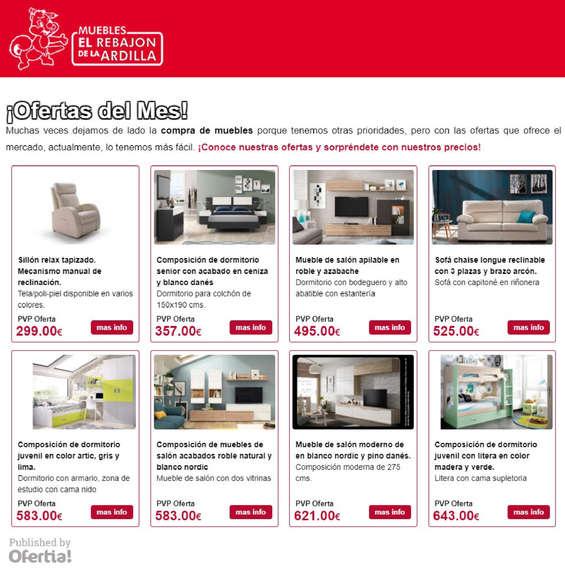 Fant stico muebles folleto vi eta muebles para ideas de for Muebles el rebajon