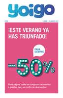 Ofertas de Yoigo, -50% para siempre