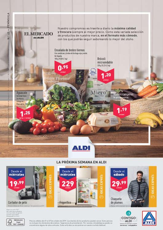 Ofertas de ALDI, Lo que vale mucho, cuesta muy poco