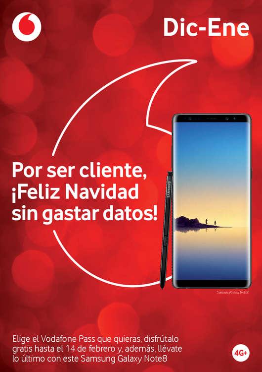 Ofertas de Vodafone, Por ser cliente, ¡Feliz Navidad sin gastar datos!