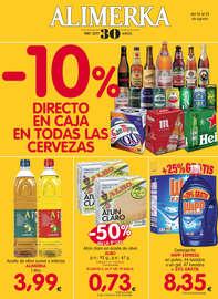 -10% directo en caja en todas las cervezas