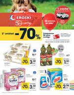 Ofertas de Eroski, - 2ª unidad -70% -