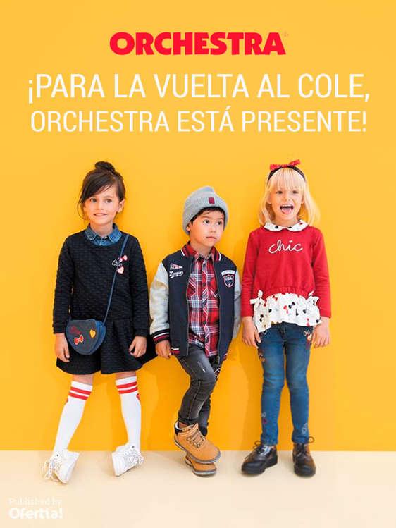 Ofertas de Orchestra, ¡Para la vuelta al cole, Orchestra está presente!