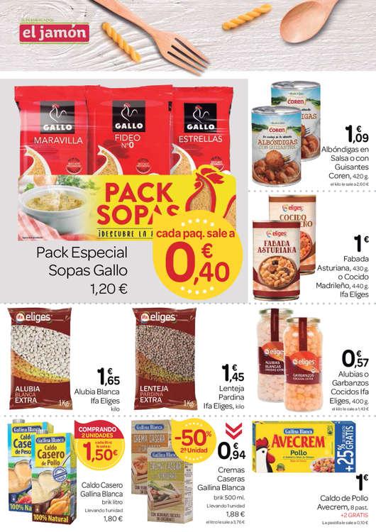 Ofertas de Supermercados El Jamón, Ahorro y calidad