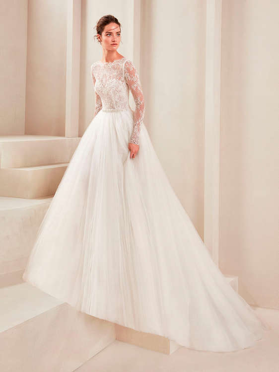 comprar vestidos de novia con cola barato en mataró - ofertia