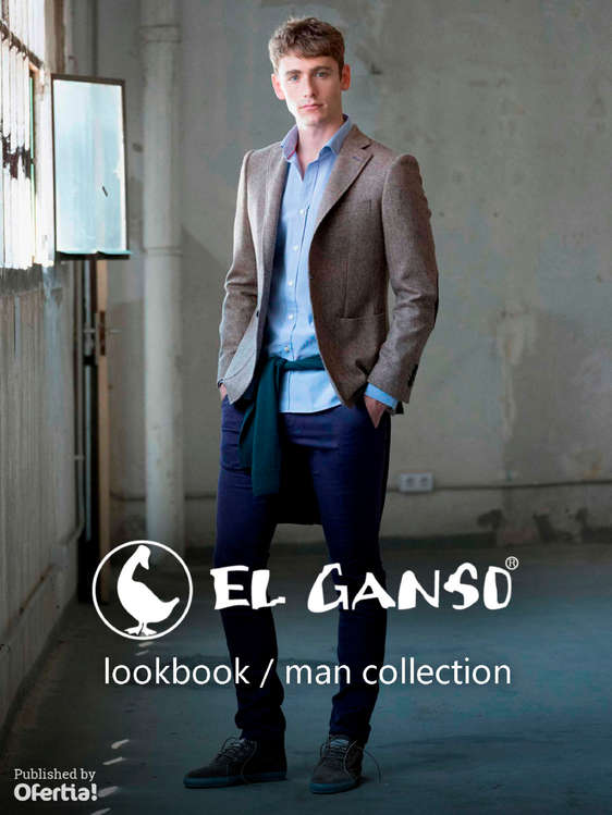Ofertas de El Ganso, Lookbook. Man Collection