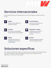 Servicios Internacionales