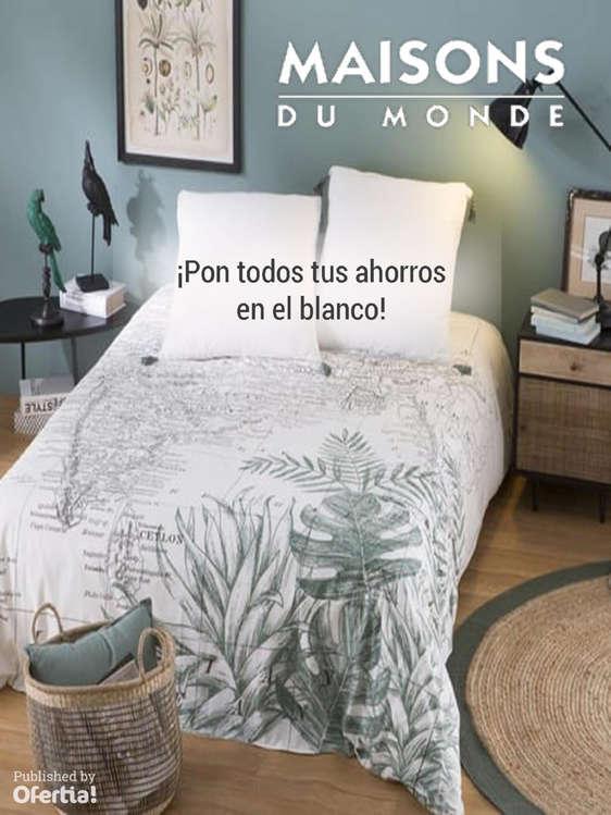Ofertas de Maisons Du Monde, ¡Pon todos tus ahorro en el blanco!