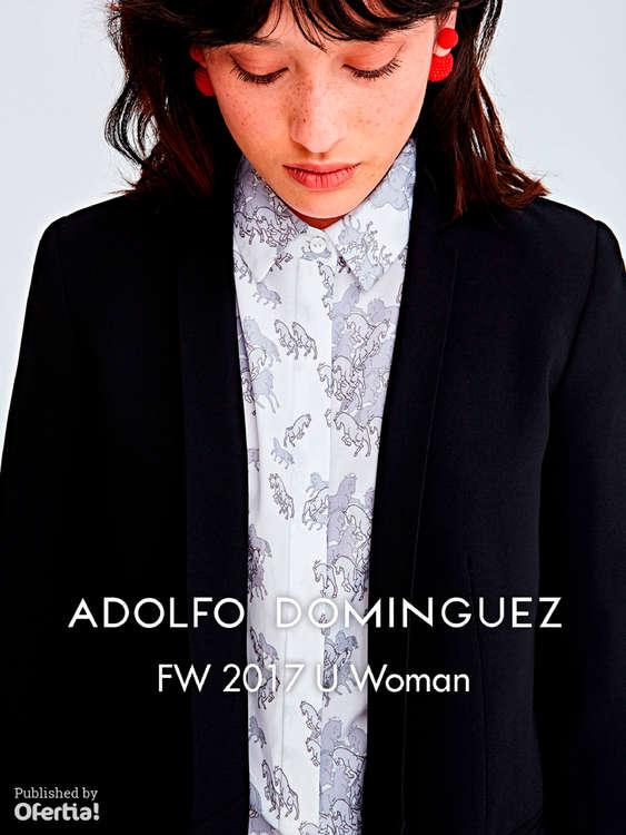 Ofertas de Adolfo Domínguez, FW 2017 U Woman