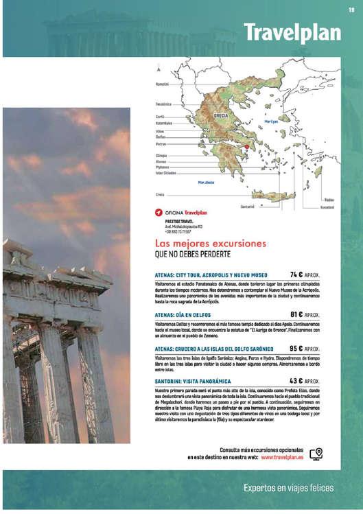 Ofertas de Halcón Viajes, Grecia y Turquía 2019-2020