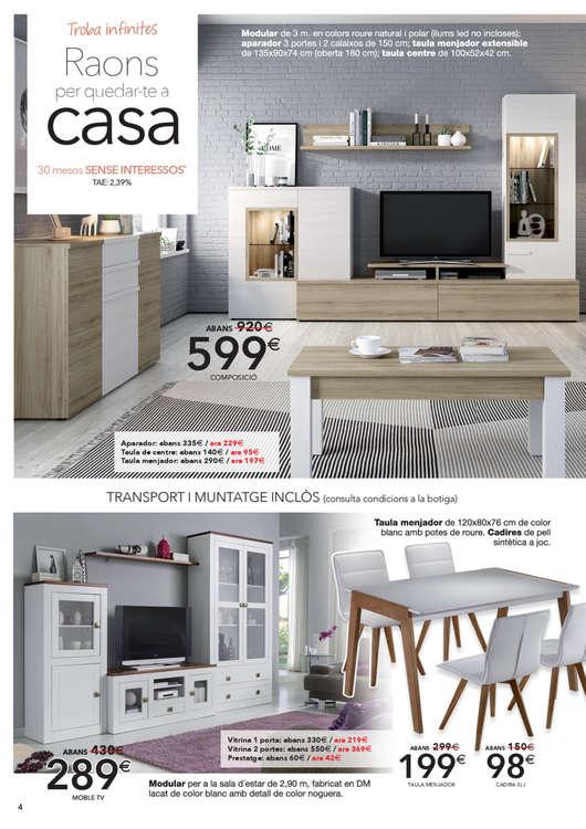 Comprar Conjunto mesa y sillas comedor barato en Terrassa - Ofertia